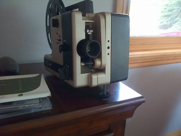 vintage, machine, video player, poem, reel, 90th birthday