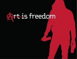 art is freedom, art,