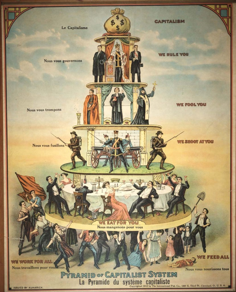 pyramid, government, politics, poetry, capitalism