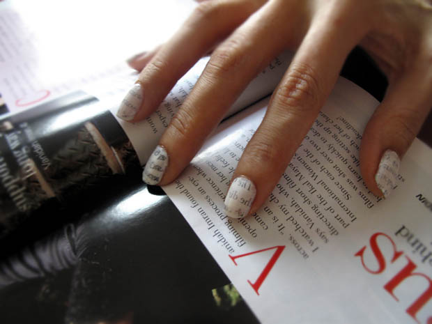 magazine, nails, woman, hand, fashion, poetry, thoughts,